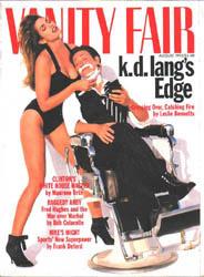 K D Lang & Cindy Crawford - Vanity Fair 1