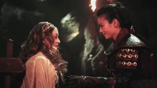 Once Upon A Time - Mulan lesbienne