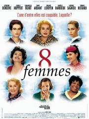 Affiche : 8 Femmes