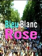 Affiche : Bleu Blanc Rose