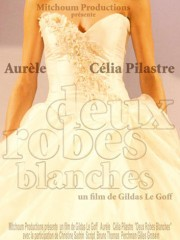 Affiche : Deux Robes Blanches