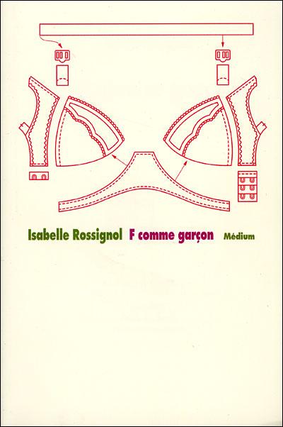 Couverture du livre : F comme garçon d'Isabelle Rossignol