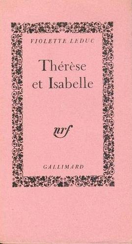 Thérèse et Isabelle de Violette Leduc