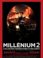 Affiche : Millenium 2 – La Fille qui rêvait d'un bidon d'essence et d'une allumette