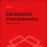 Déclaration d'Anniversaire d'Eléonore Cannone