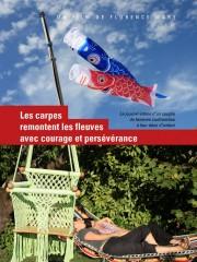 Affiche : Les Carpes Remontent Les Fleuves Avec Courage Et Persévérance