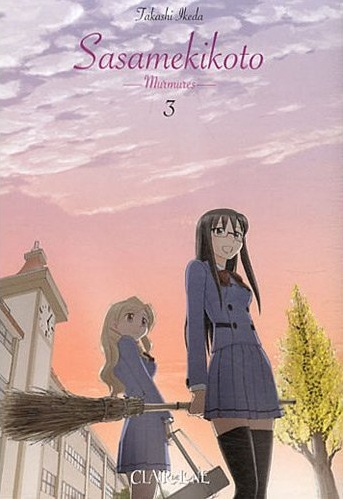 Sasamekikoto de Takashi Ikeda - Tome 3