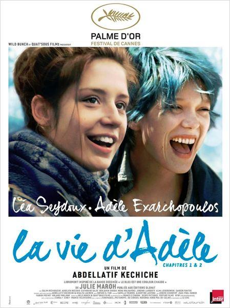 Affiche La vie d'Adèle