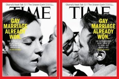 Time magazine mariage gay
