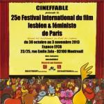 Festival Cineffable 2013 - 25ème édition de Cineffable