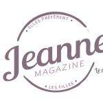 Jeanne Magazine Logo