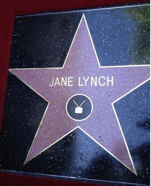 Etoile Jane Lynch Walk of fame