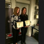 Adèle Exarchopoulos et Léa Seydoux La Vie d'Adèle remise palme d'or