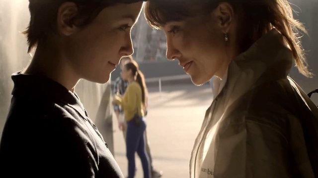 Cornetto couple lesbien