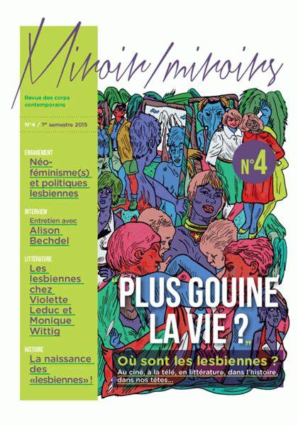 Couverture du livre : Plus Gouine La Vie (Miroir/Miroirs N°4)