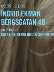 Affiche : 09:55-11:05 Ingrid Ekman Bergsgatan 4B