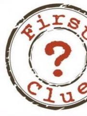 Affiche : First Clue