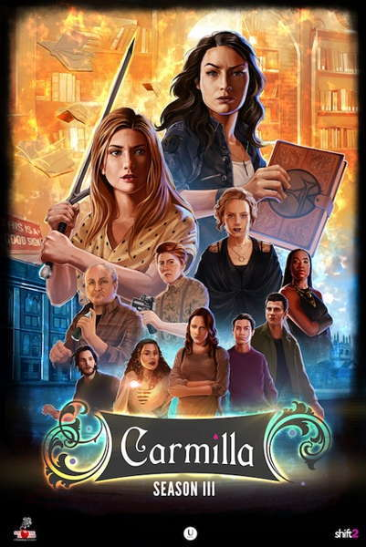 saison 3 de carmilla - webserie carmilla