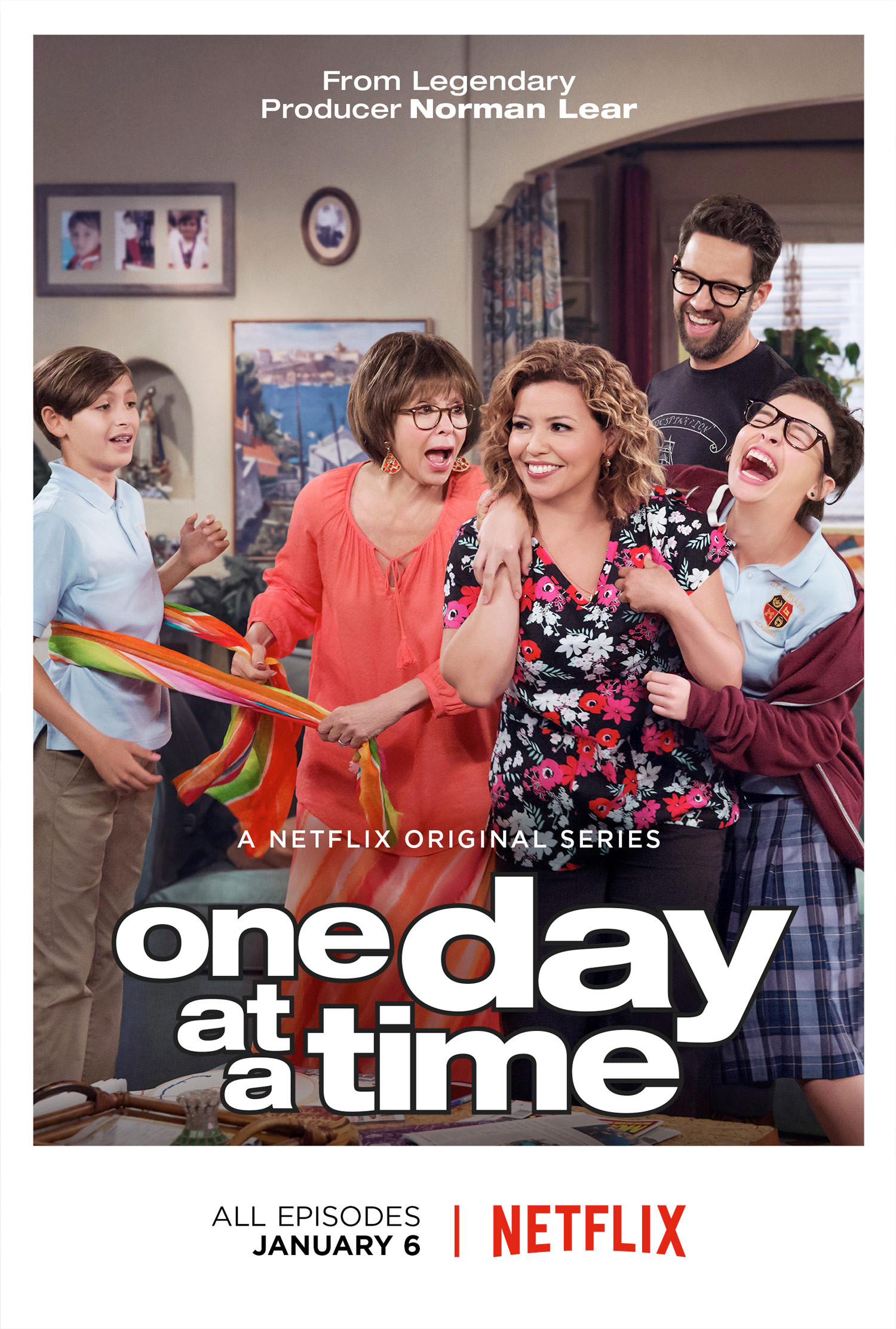 One day at a time - poster