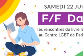 F/F Day – les rencontres du livres lesbien le 22 juin à Paris !